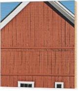 Rustic Red Barn Wood Print