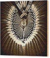 Rustic Regalia Wood Print