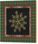 Rustic Snowflake-jp3696 Wood Print