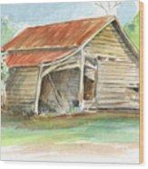 Rustic Southern Barn Wood Print