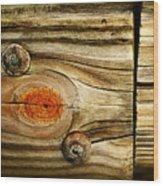 Rustic Wood Wood Print