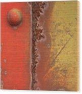 Rusting Wood Print
