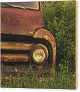 Rusty Gold  Wood Print
