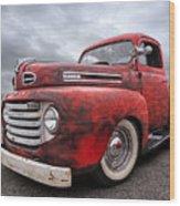 Rusty Jewel - 1948 Ford Wood Print