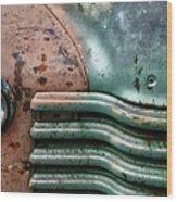 Rusty Old Beauty Wood Print