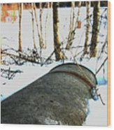 Rusty One Wood Print