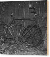 Rusty Ride Wood Print