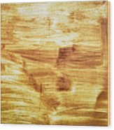 Rusty Sheet Metal Coating Wood Print