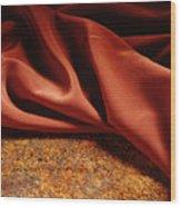Rusty Silk Wood Print