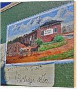 Rutledge Georgia Wood Print