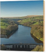 Ryburn Reservoir Wood Print