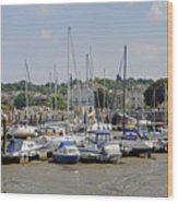 Ryde Harbour Wood Print