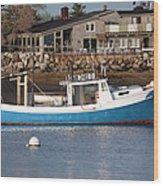 Rye Harbor - Rye New Hampshire Usa Wood Print