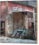 Rye Valley Stock Farm Wood Print