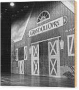 Ryman Opry Stage Wood Print