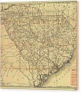 Sc Railroads Wood Print