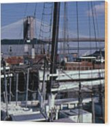 S. Street Seaport Wood Print
