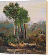 Sabal Palmettos Wood Print