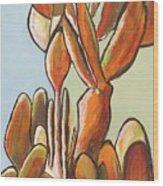 Sabar Cactus Wood Print