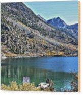 Sabrina Lake California Wood Print