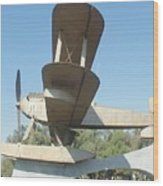 Sacadura Cabral And Gago Coutinho Monument Wood Print