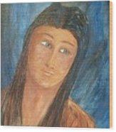 Sacagawea Wood Print