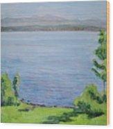 Sacandaga Lake Wood Print