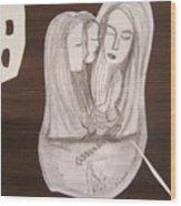 Sacra Conversation Wood Print