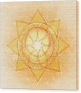 Sacral Chakra Series Two Wood Print