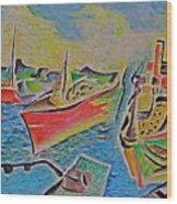Sacramento River Wood Print