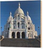 Sacre Coeur Montmartre Paris Wood Print