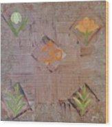 Sacred Aum Wood Print