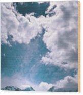 Sacred Belukha Wood Print