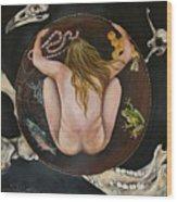 Sacred Circle 3 Wood Print