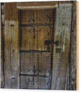 Sacred Door Wood Print