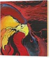 Sacred Eagle Wood Print