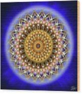 Sacred Geometry 187 Wood Print