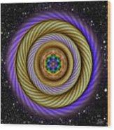 Sacred Geometry 405 Wood Print