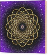 Sacred Geometry 473 Wood Print