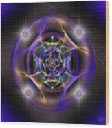 Sacred Geometry 554 Wood Print