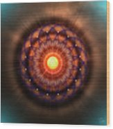 Sacred Geometry 586 Wood Print