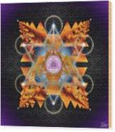 Sacred Geometry 701 Wood Print