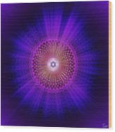 Sacred Geometry 93 Wood Print