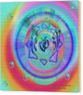 Sacred Healing Rays Of Cho Ku Rei Wood Print