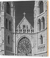 Sacred Heart Cathedral - Newark,new Jersey Wood Print