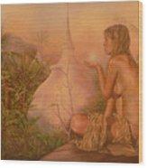 Sacred Lands Wood Print