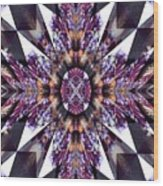 Sacred Star Wood Print