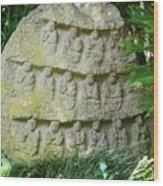 Sacred Stone Wood Print