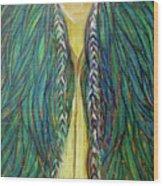 Sacred Teacher Wood Print