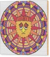 Sad Sunny Wood Print
